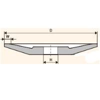 Шлифовальный круг тарельчатый плоский (Тип 12)