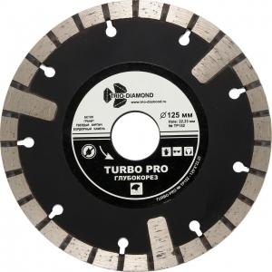 Диск алмазный отрезной Turbo Глубокорез 125*10*22,23 мм