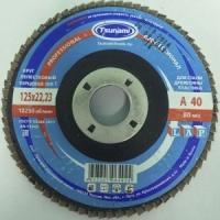 Круг лепестковый торцевой (КЛТ) Tsunami ZK 115х22 P80 (циркониевое зерно)